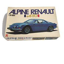 Bandai Alpine Renault A110 1/20 Scale Plastic Car Kit