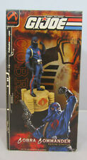"G.I. Joe: Cobra Commander 2003 Statue Ltd 417/1500 12"" Tall Palisades Toys"