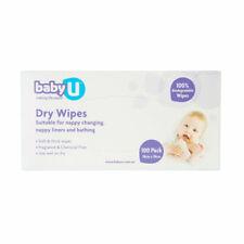 Baby U Dry Wipes - 100 Pack