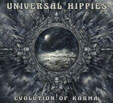 "UNIVERSAL HIPPIES: ""EVOLUTION OF KARMA"" CD (AWESOME INSTRUMENTAL GUITAR ROCK)"