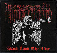 Blasphemy - Blood Upon The Altar Patch Black Death Metal Bathory Venom Archgoat