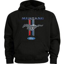 Ford Mustang sweatshirt hoodie Men's size hooded sweatshirt mustang pony tri bar