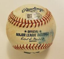 2016 Jose Abreu Game Used RBI Double Ball! Chicago White Sox! MLB HOLO!
