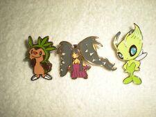 Pokemon Pins: Chespin - Mega Mudkip - Celebi Lot (3)