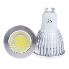 Dimmable 6W 9W 12W GU10 E27 MR16 COB LED Bulb Cool/Warm White Spot Light Lamp