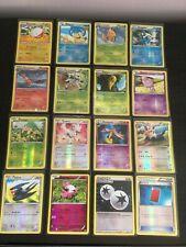 XY Base set Pokemon Cards x 16  all Holo & Rev Holo Nr Mint