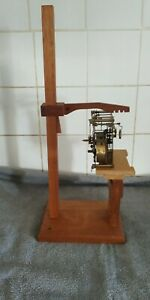 Clock  repairers movement test stand  Fusse, wall, Westminster French & others