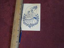 Vintage High School Keepsake/Dance Card Booklet With Pencil Unused