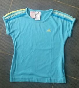 T-shirt manches courtes ADIDAS  / Taille 7-8 Ans / TBE