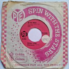 "Petula Clark - Ya Ya Twist / Si C'est Oui, C'est Oui 7"" Vinyl 45RPM 1960s Music"