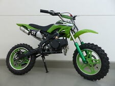 RV-Racing Pocketbike Dirtbike Pocket Cross Bike Kindermotorrad Crossbike Grün