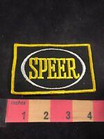 SPEER Brand Logo Advertising Patch 80C5
