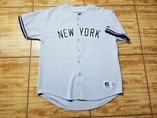 Vintage Russell Athletic Sewn Men's New York Yankees Baseball Jersey Size XL