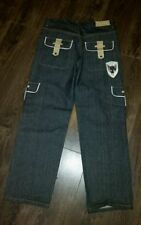 Cotton Extra Long Big & Tall Loose Jeans for Men