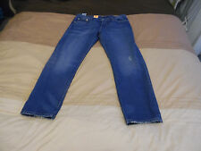LEVIS womens vintage 501CT customise and tapered FIT BOTTON-FLY 31w/32L