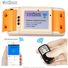 Garage Door Replacement Learning Remote Control Key+WIFI Phone APP Receiver