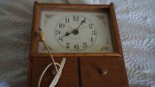 General Electric Vintage Wood Clock