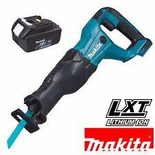 Makita DJR186Z 18v Li-Ion LXT Cordless Reciprocating Recip Saw + Blades BL1830