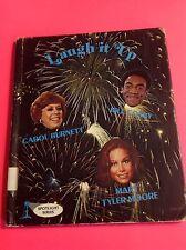 Laugh It Up Book Carol Burnett MARY TYLER MOORE Bill Cosby OutOfPrint 1976 Book