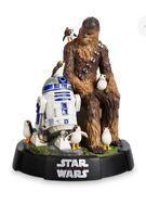 Star Wars The Last Jedi Chewbacca R2D2 Porgs Limited Edition Figurine #366/1400