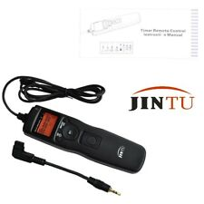 Jintu Timer Remote shutter Switch for Sony Alpha Camera + 85mm Cord