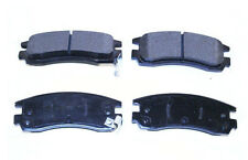 Ceramic Brake Pads Disc w/Shims for 1995 Saturn SL SEDAN-Rear Set