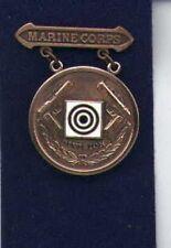 US Marine Division Pistol Shot Shooting badge in bronze