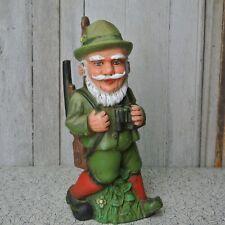 Vintage ZEHO Germany Hunter Hunting Garden Gnome
