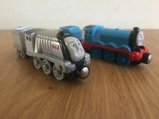Spencer & Gordon With Tender Take n Play Along Thomas and Friends Tank Engine