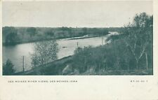 DES MOINES IA – Des Moines River View – udb (pre 1908)