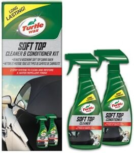 Turtle Wax Soft Top, Cabriolet & Convertible, Roof Cleaner & Conditioner Kit
