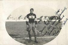 Football Player, Charles Palmer, St Johnsbury VT