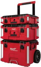 Milwaukee 22 in. Packout Modular Tool Box Storage System Metal Reinforced Corner