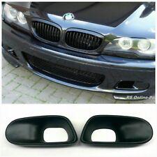 BMW E46 M-Paket 2 Technik 2 Nebelscheinwerfer Blenden Lufteinlass Air Cover ABS