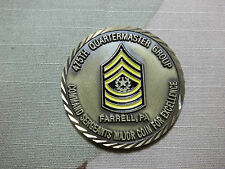 U.S. ARMY 475th Quartermaster Group FUELED FOR ACTION In Memory Challenge Coin