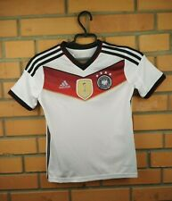 Germany soccer kids jersey 9-10 years 2014 home shirt M35023 footballl Adidas