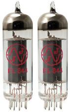 Matched Pair JJ/Tesla EL844 vacuum tube reduced power EL84