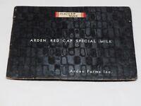 Arden Farms Red Cap SPecial Milk Advertising Photo ALbum 1930's
