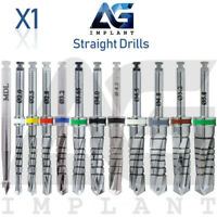 Straight Drill 1.9mm~5.8mm External Irrigation Surgical Tools Dental Implant
