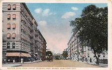 1916 Stores Boston Rd. from 168 St. looking East Bronx Ny post card