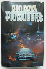 BEN BOVA Privateers  first edition  hardcover with jacket 1985 Tor vintage scifi