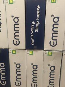 New sealed boxed Emma Original King size UK Mattress in box