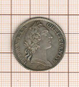 jeton argent Louis XV trésor royal 1755