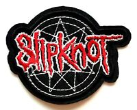 Slipknot Heavy Metal Iowa US Alternative Rocker Band Embroidered Iron On Patch