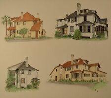 Daytona Beach, Florida Original Architectural Drawings by Donna Deem Bostic, 1/3