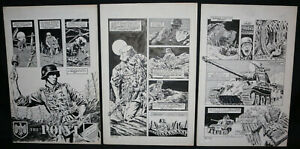 The Point 3pg Story - LA - Nazis WWII Story - Signed art by Dan Day