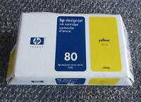 Original and New HP DesignJet 1000 Series Yellow Ink Cartridge 350ml | c4848a