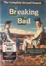 BREAKING BAD Complete SECOND Season 2 DVD 4-Disc Set AMC Brand New & Sealed USA