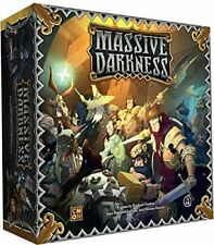 Massive Darkness [Board Game, 1-6 Players, Fantasy, Exploration] New