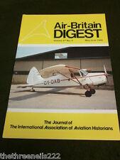 AIR BRITAIN DIGEST - MAY 1985 - CLAUDE PIEL